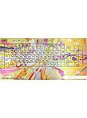 Клавиатура CBR Picture Keyboard Splashes