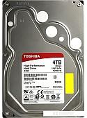 Жесткий диск Toshiba X300 4TB [HDWE140UZSVA]