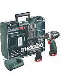 Дрель-шуруповерт Metabo PowerMaxx BS Basic Set [60008088]
