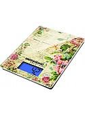 Кухонные весы Redmond RS-736 (цветы)
