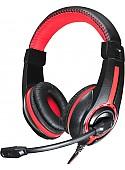 Наушники Oklick HS-L200 (черный/красный)