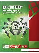 Система защиты ПК от интернет-угроз Dr.Web Security Space (1 ПК, 1 год)