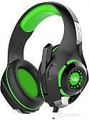 Наушники CrownMicro CMGH-102T USB (зеленый)
