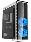 Корпус GameMax 9503X Elysium (белый, голубая подсветка)