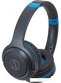 Наушники Audio-Technica ATH-S200BT (серый/синий)