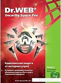 Система защиты ПК от интернет-угроз Dr.Web Security Space Pro (1 ПК, 1 год)
