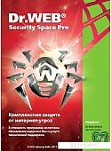 Система защиты ПК от интернет-угроз Dr.Web Security Space Pro (2 ПК, 1 год) BY