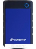 Внешний жесткий диск Transcend StoreJet 25H3 4TB (синий)