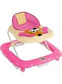 Ходунки Lorelli Baby Walker DOG EB (розовый)