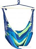 Кресло-гамак Sipl 100x90 см (синий/зеленый)