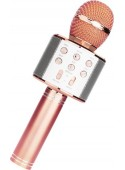Микрофон Wster WS-858 (розовый)