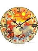 Настенные часы Белоснежка Поздний ужин