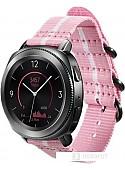 Ремешок Samsung Premium Nato для Galaxy Watch 42mm & Gear Sport (розовый/белый)
