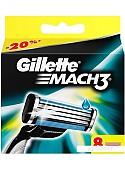 Сменное лезвие Gillette Mach3 (8 шт)