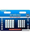 Аккумуляторы Panasonic Eneloop AA 1900mAh 4 шт. + AAA 750mAh 4 шт. [BK-KJMCCE44E]
