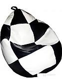 Кресло-мешок Bagland Груша Шахматы