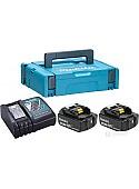 Аккумулятор Makita BL1850B + DC18RC (18В/5.0 а*ч + 18В)