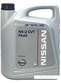 Трансмиссионное масло Nissan CVT Fluid NS-2 5л