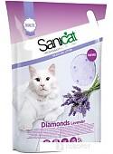 Наполнитель для туалета Sanicat Diamonds Lavender 5 л