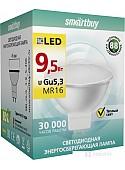 Светодиодная лампа SmartBuy MR16 GU5.3 9.5 Вт 3000 К [SBL-GU5_3-9_5-30K]