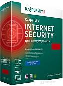 Система защиты ПК от интернет-угроз Kaspersky Internet Security (2 ПК, 1 год)