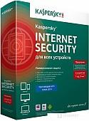 Система защиты ПК от интернет-угроз Kaspersky Internet Security (3 ПК, 1 год)