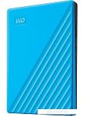 Внешний накопитель WD My Passport 2TB WDBYVG0020BBL