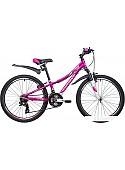 Велосипед Novatrack Katrina 24 (фиолетовый, 2019)