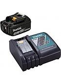Аккумулятор с зарядным устройством Makita BL1830B + DC18RC (18В/3.0 Ah + 7.2-18В)