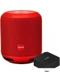 Умная колонка Prestigio Smartmate с пультом Perenio Red Atom (красный)