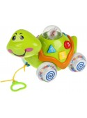 Интерактивная игрушка Умка Обучающая черепаха-каталка B655-H04009-R1