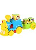 Интерактивная игрушка Умка Обучающий паровоз Азбука животных WD3708-R