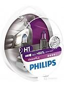 Галогенная лампа Philips H1 VisionPlus 2шт