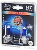 Галогенная лампа AVS Atlas H7 2шт