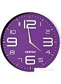 Настенные часы CENTEK СТ-7101 (фиолетовый)