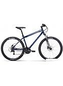 Велосипед Forward Sporting 27.5 3.0 disc р.19 2020 (синий)