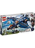 Конструктор LEGO Marvel Super Heroes 76126 Модернизированный квинджет Мстителей