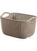 Корзина Curver Knit S (темно-серый) 226167