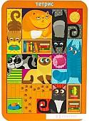 Мозаика/пазл WoodLand Toys Тетрис большой Коты 065102