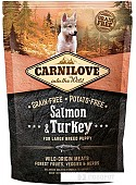 Корм для собак Carnilove Large Breed Puppy Salmon & Turkey 1.5 кг