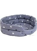 Лежак Дарэлл 9142 (серый)