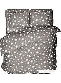 Постельное белье Samsara Grey Stars 200-15 (2-спальный)