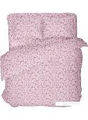 Постельное белье Samsara Завитки Розовые 220-10 205x220