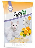 Наполнитель для туалета Sanicat Professional Diamonds Citric 3.8 л