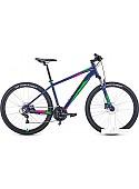 Велосипед Forward Apache 27.5 3.2 disc р.21 2021 (синий)